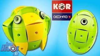 Geomag KOR jeu de construction magnétique aimants oeuf #Jouet #Toy #Unboxing #KORGeomag 4K Français
