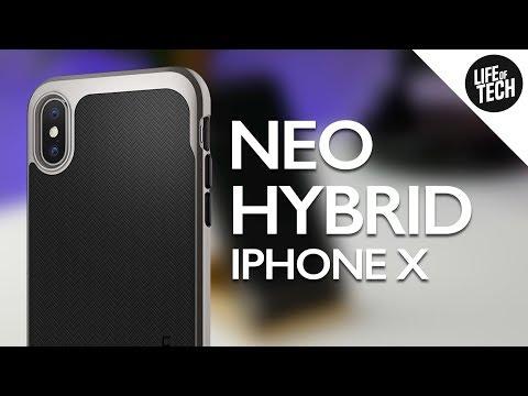 save off fa468 8c827 Spigen Neo Hybrid Case for iPhone X - Review (Spigen Neo Hybrid ...