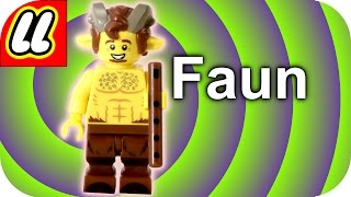 LEGO Faun Minifigure CMF Series 15 With how to find guide.