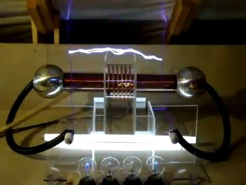 Bipolar Tesla Coil without ground connection
