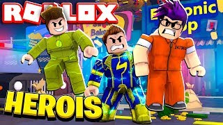 GANHAMOS SUPER PODERES E SALVAMOS A CIDADE DO ROBLOX!! (Mad City)
