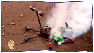 Квадрокоптер (Дрон) - подборка падений | #6