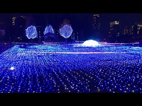 Tokyo Christmas Light up at Roppongi Midtown