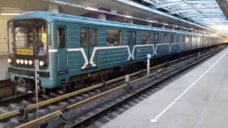 Номерные на станции Технопарк