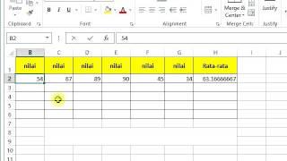 Cara Menghilangkan Angka di Belakang Koma Microsoft Excel.FLV