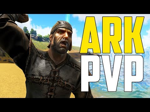 MY PVP SERVER! - Ark Survival Evolved (Ark: The Volcano PVP #9)