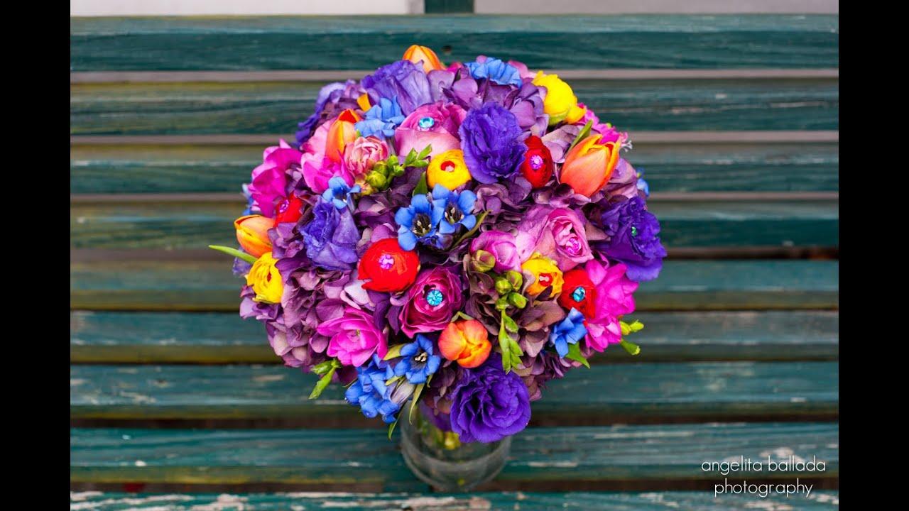ramos de novia de flores silvestres youtube