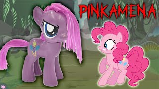 PINKAMENA Pony - Pinkie Pie Turns EVIL Makeover My Little Pony Custom