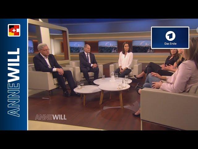 Anne Will - 02.06.2019 - Schlechtes Klima - wird die GroKo jetzt grüner? (ARD)
