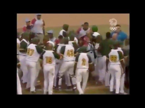 Pelea en el 3er juego de la final Ciego de Ávila - Pinar del Río