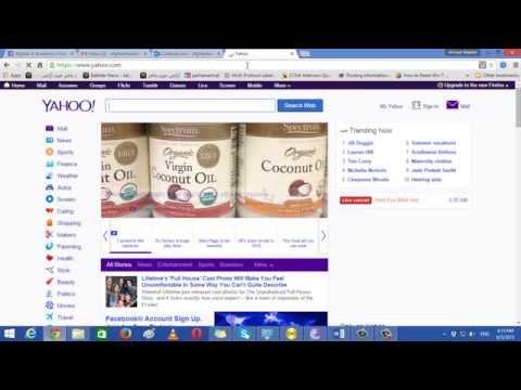 Creating Email Account in Yahoo com in Farsi   Dari Language