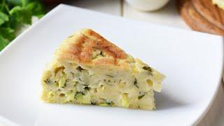 Пирог из кабачков со сметаной и сыром мультиварке видео рецепт