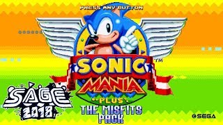 Sonic Mania: The Misfits Pack - SAGE 2018 Demo