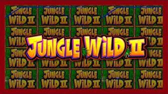 Live Play On Jungle Wild II Slot Machine