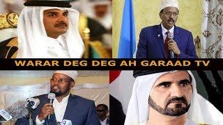 Warar deg deg ah Burburinta Qatar Heshiiska Somalia & imaaraadka, Qorshaha Mucaaradka DFS & Madoobe