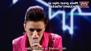 MUST SEEX Factor   Live Show 5   Cher Lloyd sings Empire State of Mind 06/11/10
