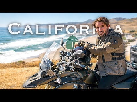 Exploring California by Motorcycle | LA to Big Sur Moto Camping (Day 2)