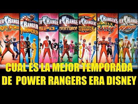 Cual es la Mejor Temporada de Power Rangers Era Disney