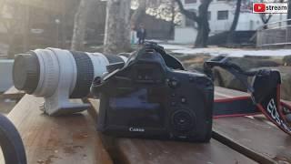 달성공원에서 촬영한 카메라, 캐논 6D