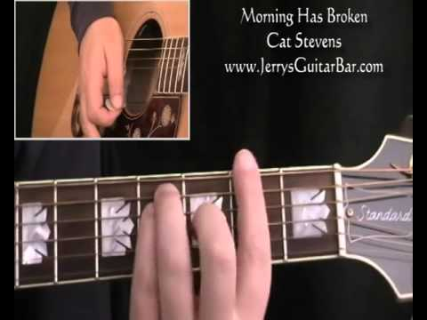 How To Play Cat Stevens Morning Has Broken (intro only) - YouTube