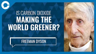 Carbon Dioxide is Making The World Greener (w/ Freeman Dyson, Institute for Advanced Studies)