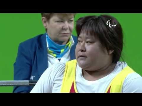 Powerlifting | XU Lili wins Silver | Women's -79kg | Rio 201