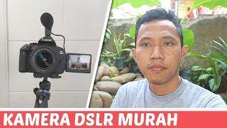 ? Kamera VLOG DSLR Murah buat Youtuber Pemula !! Canon EOS 700D  yaa gak murah-murah bgt sih ...