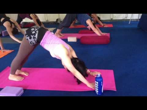 Yoga Teaching Practice at Nada Yoga School
