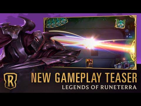 Legends of Runeterra - New Gameplay Teaser | 30 Second Preview
