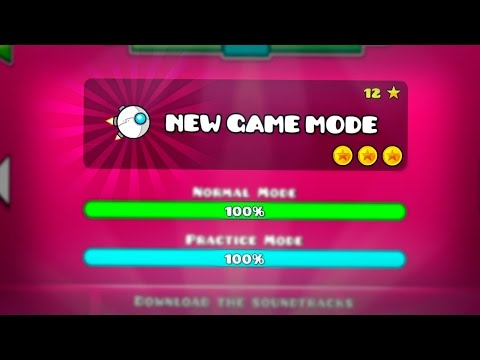 NEW GAME MODE!!(ANOTHER VEHICLE) - GEOMETRY DASH 2.2!!