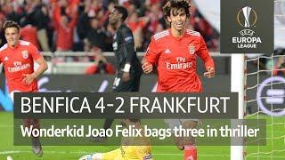 Benfica vs Frankfurt (4-2) | UEFA Europa League Highlights