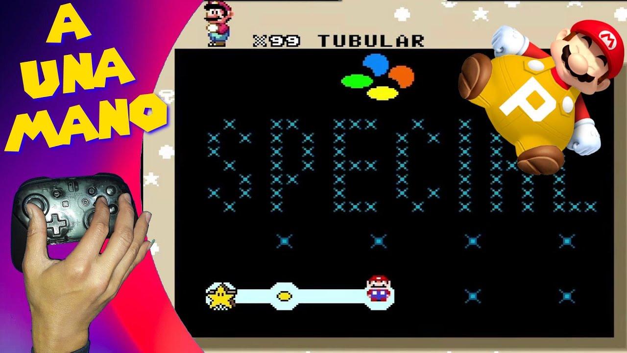 Sí, A UNA MANO, Los niveles más difíciles de Mario world