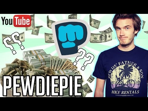 HOW MUCH MONEY DOES PEWDIEPIE MAKE ON YOUTUBE 2016 YouTube Earnings
