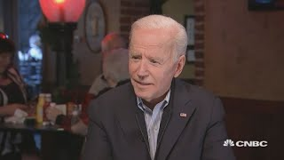 CNBC's full interview with Democratic presidential candidate Joe Biden