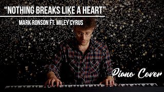 Nothing Breaks Like A Heart - Mark Ronson ft. Miley Cyrus | Keith Harrison Piano Cover