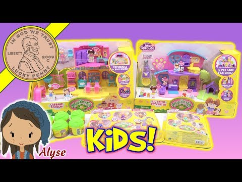 Little Sprouts Cabbage Patch Dolls Kids - Lil' Patch Vet Center & Cabbage Academy