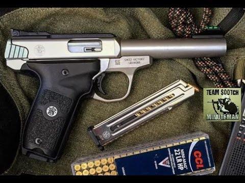 S&W 22 Victory Semi Auto Pistol Review