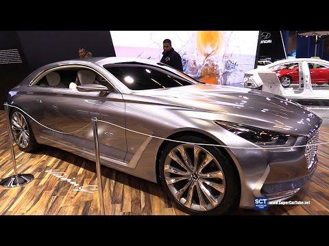 Hyundai Vision G Coupe Concept - Exterior Walkaround - 2016 Montreal Auto Show