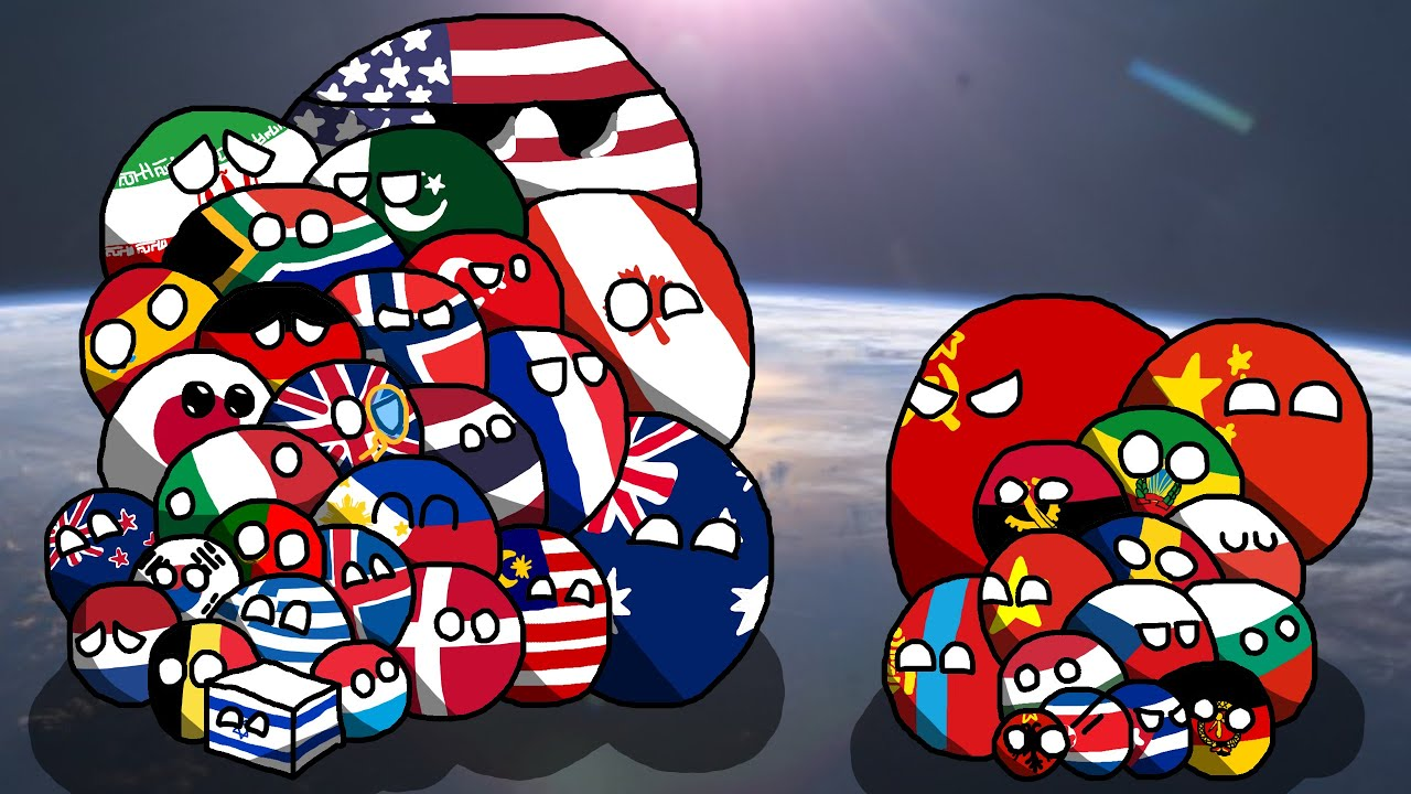 Alternate History Of Europe In Countryballs Cold War Era Ep 1
