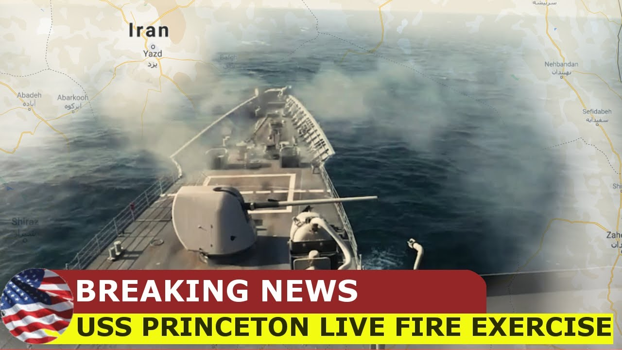 U.S Navy • Guided-Missile Cruiser • Live Fire • Arabian Gulf Sep. 28, 2020