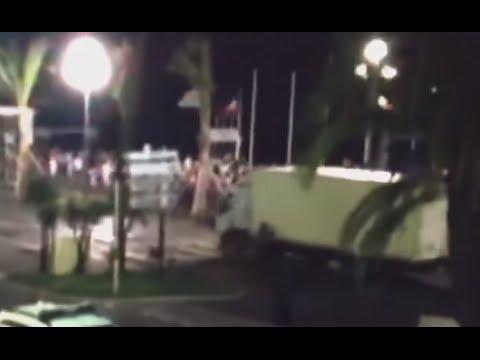 Nice Attack Video of Grenade-Filled Truck