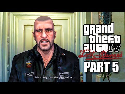 GTA 4 Lost and Damned Gameplay Walkthrough Part 5 Mission Off Route and This Shit's Cursed