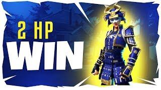12 Kill - 2 HP Win! Fortnite Practice Solo Tournament