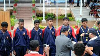 Sainik School, Bijapur-South Zone July2011- Basket Ball- Winners-Amaravathinagar.avi