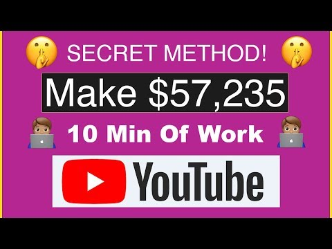 💸MAKE $57,235 ON YOUTUBE WITHOUT MAKING VIDEOS (MAKE MONEY ONLINE)