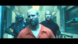 Форсаж 7 - Джейсон Стэтхэм vs Дуэйн Джонсон Конец фильма (HD 1080p)