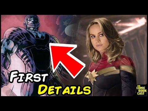 Captain Marvel Costume Detailed & Film Villains Revealed