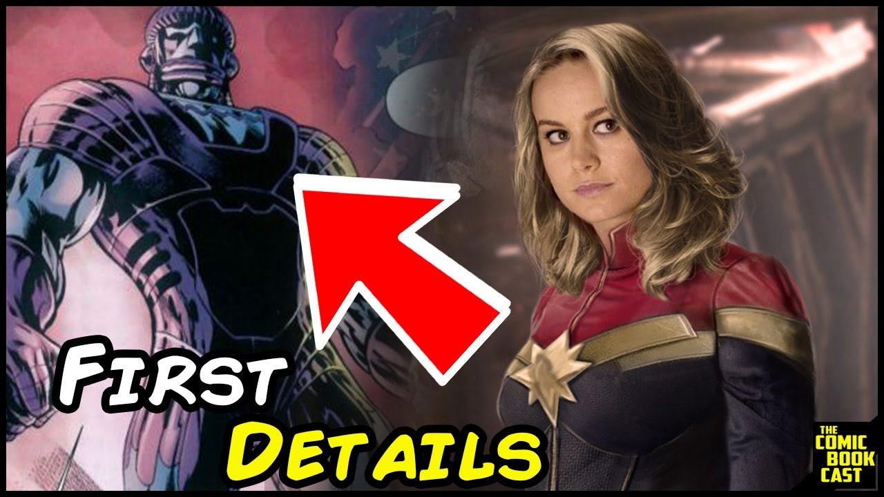 Captain Marvel Costume Detailed & Film Villains Revealed