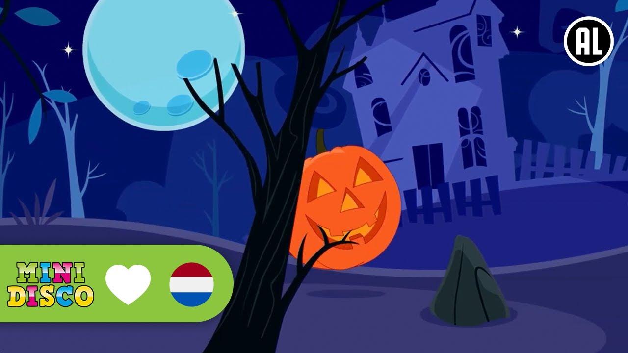 Halloween Filmpjes Nederlands.Halloween Kinderliedjes Tekenfilm Halloween Minidisco