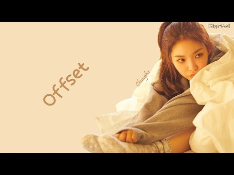 Chung Ha (청하) - Offset [Eng] Color Coded Lyrics